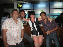 Kurt, Pubbs, Me and Nuwan