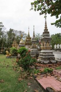 Grave Stones @ Wat Sisaket