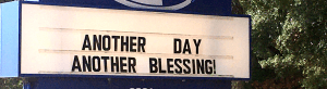 Misplaced blessings