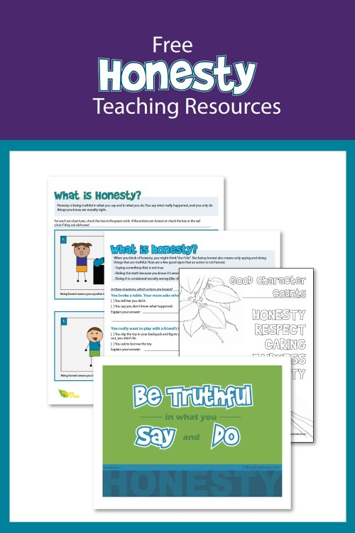 small resolution of Honesty Worksheets and Teaching Resources
