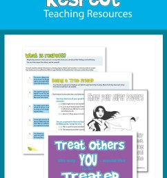 Respect Worksheets and Teaching Resources [ 1500 x 1000 Pixel ]