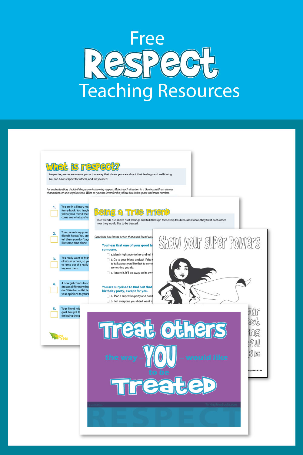 medium resolution of Respect Worksheets and Teaching Resources
