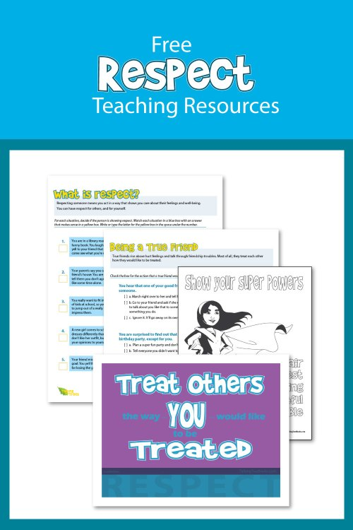 small resolution of Respect Worksheets and Teaching Resources