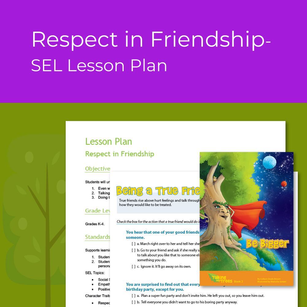 medium resolution of Lesson Plan- Respect in Friendship