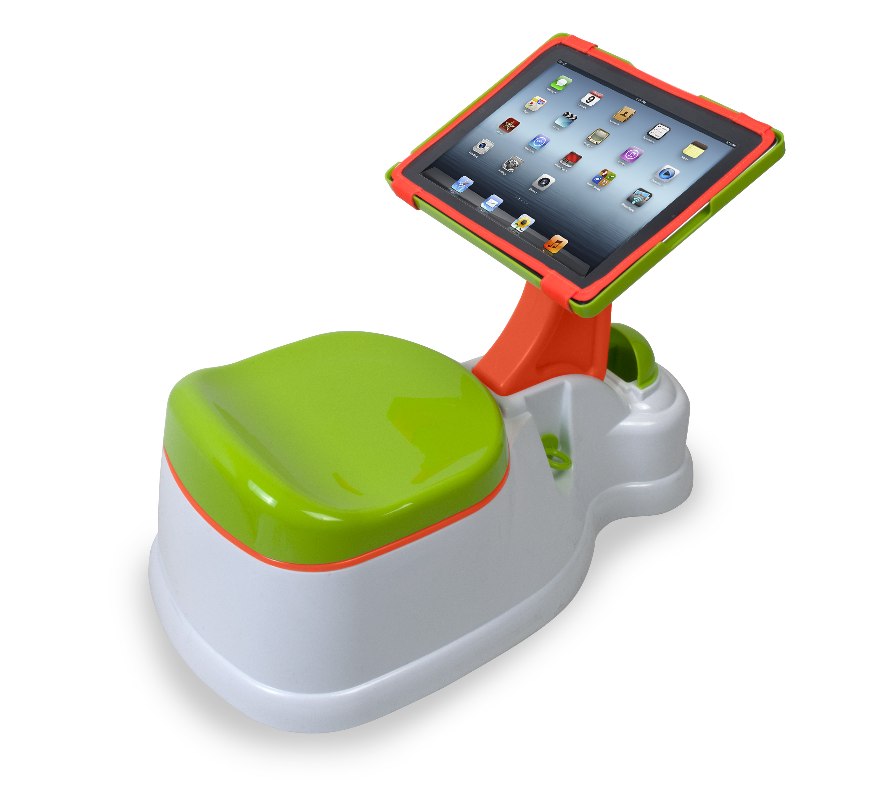 singing potty chair folding directors pee or poop and play ipotty for ipad the talking walnut tags