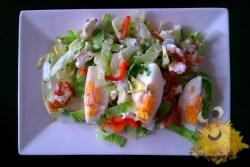 Salade met Spek en Ei