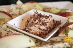 Appelfriet met Pindakaas-Yoghurt dip