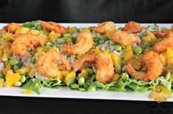 Sushi Salade met Mango en Garnaal