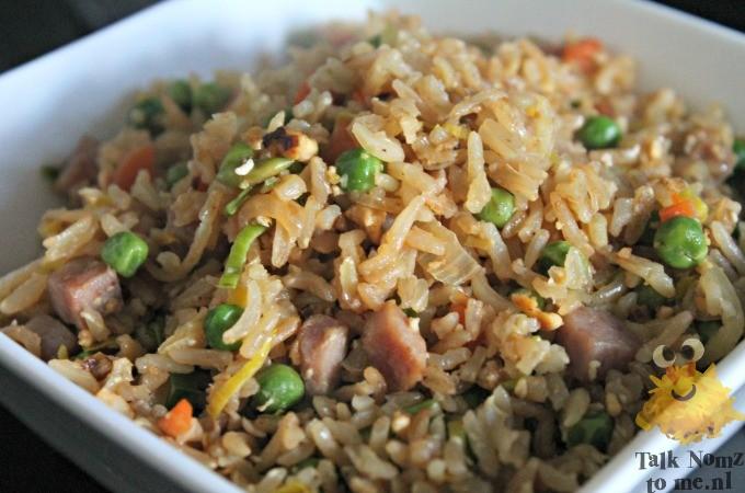 Chinese nasi (Of zoals je hem bij de Chinees zou willen krijgen)