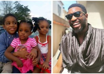 Timi Dakolo shares epic throwback of his kids, recalls how he was able to perform mother's role (Photos) – Talk of Naija