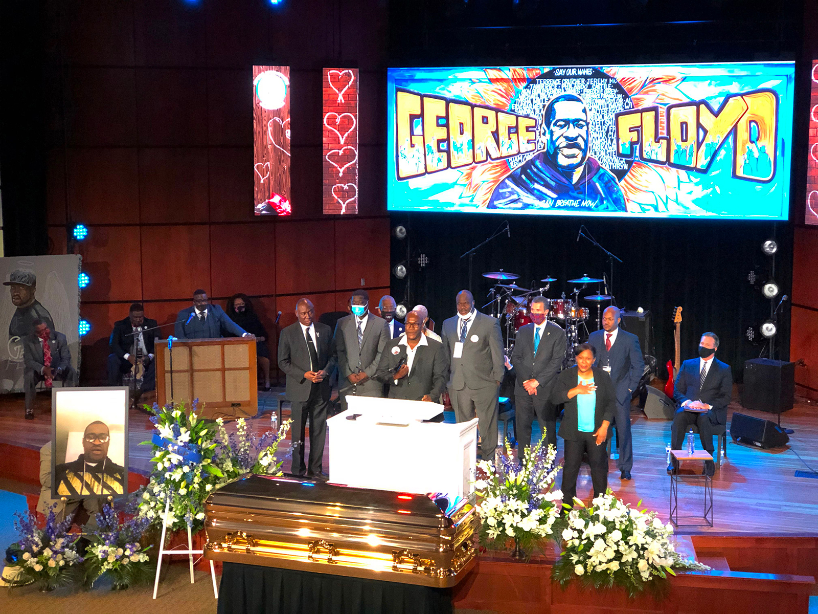 What you need to know about George Floyd's Minneapolis memorial service – Talk of Naija