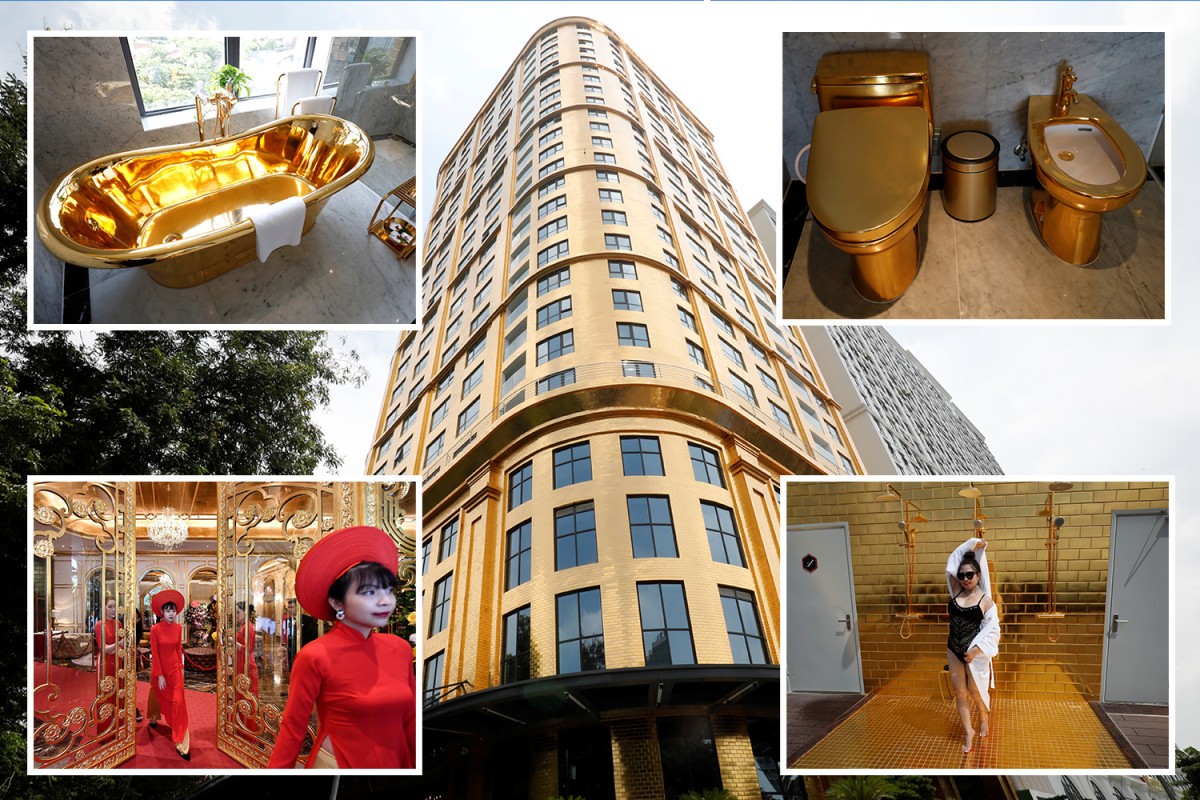 Worlds first' gold-plated hotel opens in Vietnam (photos) – Talk of Naija