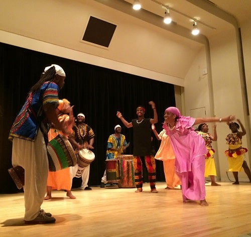 Free Family African Dance Workshops at Library