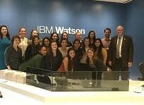 Ursuline Computer Scientists Visit IBM's Watson Global Headquarters in New York City