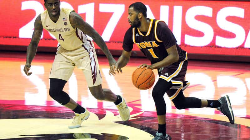 Cassell Nets 28 in Iona MBB Debut; Gaels Fall at Florida State.jpg