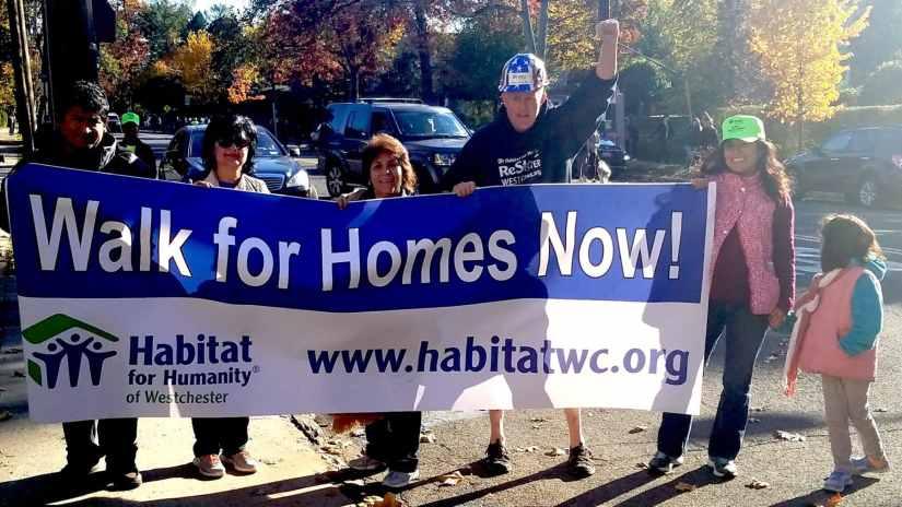 Habitat Westchester Walk for Homes 2016
