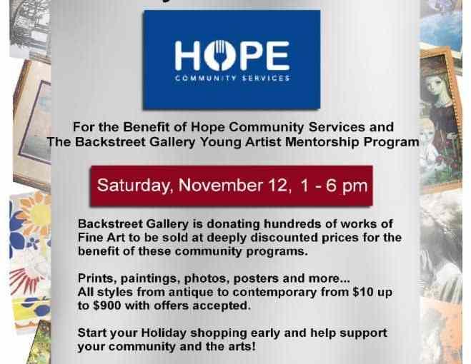 Community Fine Arts Fundraiser