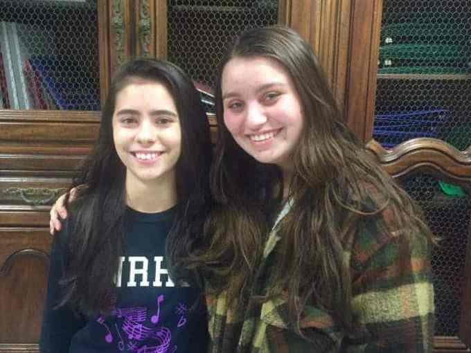 Ana Acevedo (left) and Melanie Anaya (right)