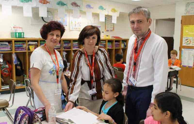 Ukrainian Team Studies Education in New Rochelle