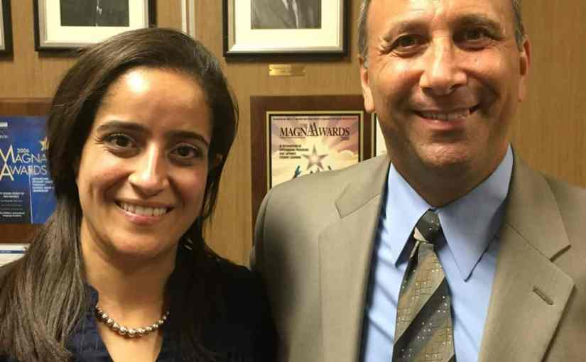 Amy Moselhi and Paul Warhit were sworn in to the New Rochelle Board of Education.jpg