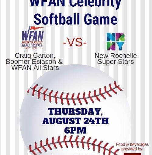 6th Annual WFAN All-Stars Celebrity Softball Game