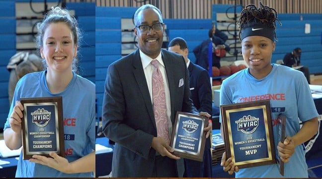 Coach Davis Selected as AD3I Coach of the Year for Women's Basketball; Harrison and Brice Named to First Team All-Independent