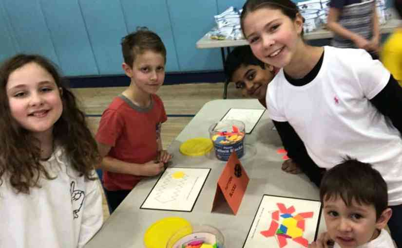 Math Games and Family Time Added up to a Night of Fun at Daniel Webster Magnet School's Family Math Night
