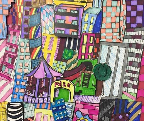 Come see art work by our students inspired by the world renowned pop-art of New Rochelle's own Charles Fazzino