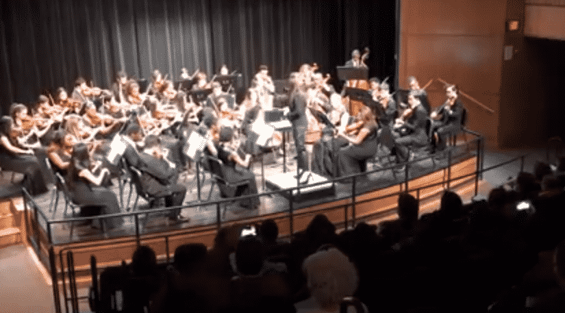 A highlight from the PAVE Band & Orchestra Concert last night