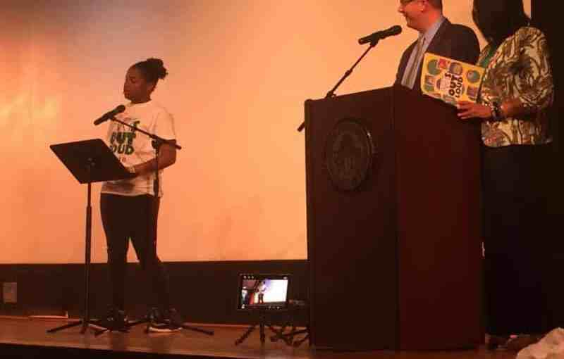 Arts Out Loud Showcases Middle School Students