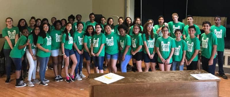 IEYMS Choir Earns Second in Regional Competition