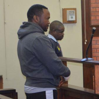 IN CUSTODY: Alleged murderer Tonny(correct) Donile in the dock at the Port Alfred Magistrate's Court last Friday Picture: JON HOUZET