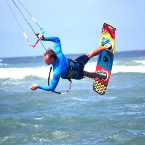 THRILLS AND SPILLS: The Cannon Rocks Kiteboarding Classic took place last week, and provided spectators with some exiting tricks and maneuvers to delight on