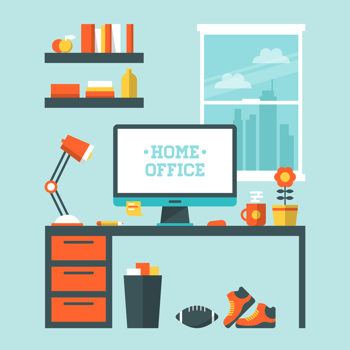 5 Ways to Efficiently Run Your Business Out of Your Home