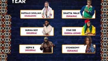 GLOBAL MUSIC AWARDS AFRICA 21