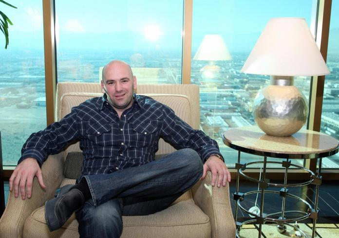 Dana White has been with the company since the Fertitta brothers bought it for m in 2001