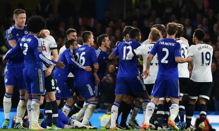 Stamford Bridge: Chelsea 2-2 Tottenham - 2, May 2016