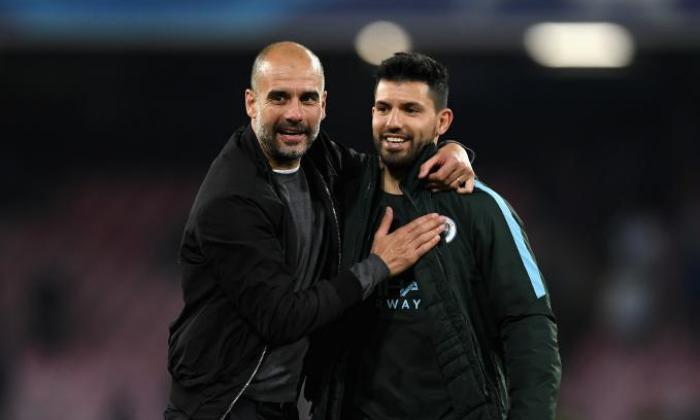 Manchester City: Pep Guardiola 'delighted' with Sergio Aguero, says star striker will decide his own future