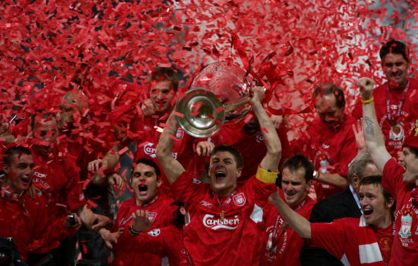Against all odds, Liverpool became European champion in 2005