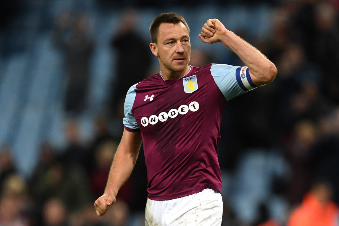 John Terry has been strongly linked with a return to Aston Villa… as manager