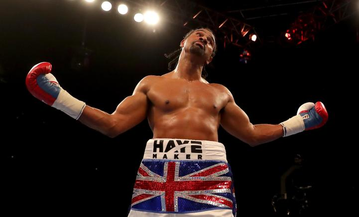 David Haye on online abuse: 'You should not be allowed to comment on someone else's post if your name or ID has not been validated.