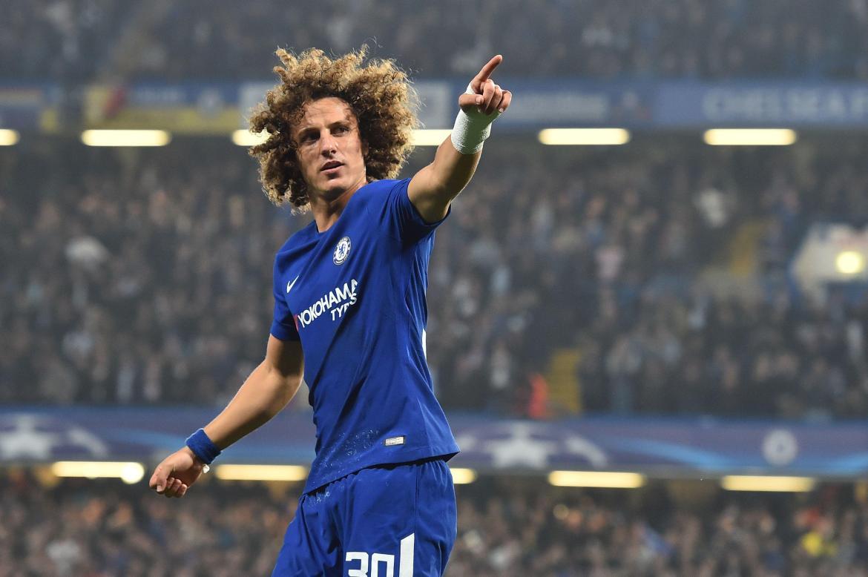 Luiz has fallen out of favour at Stamford Bridge under Antonio Conte