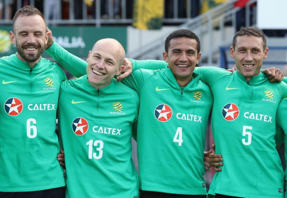 Aaron Mooy and Tim Cahill are among the familiar faces in Australis's squad  Brazil, France, England, Germany, Spain and ALL the 32 squads selected for Russia GettyImages 971518164
