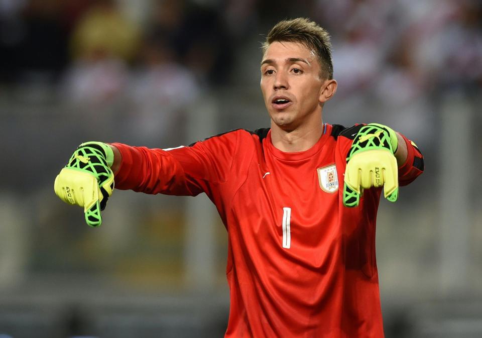 Anton Stanley (Features Editor) – Fernando Muslera  talkSPORT writers predict which goalkeeper will win the World Cup 2018 Golden Glove Glove 4