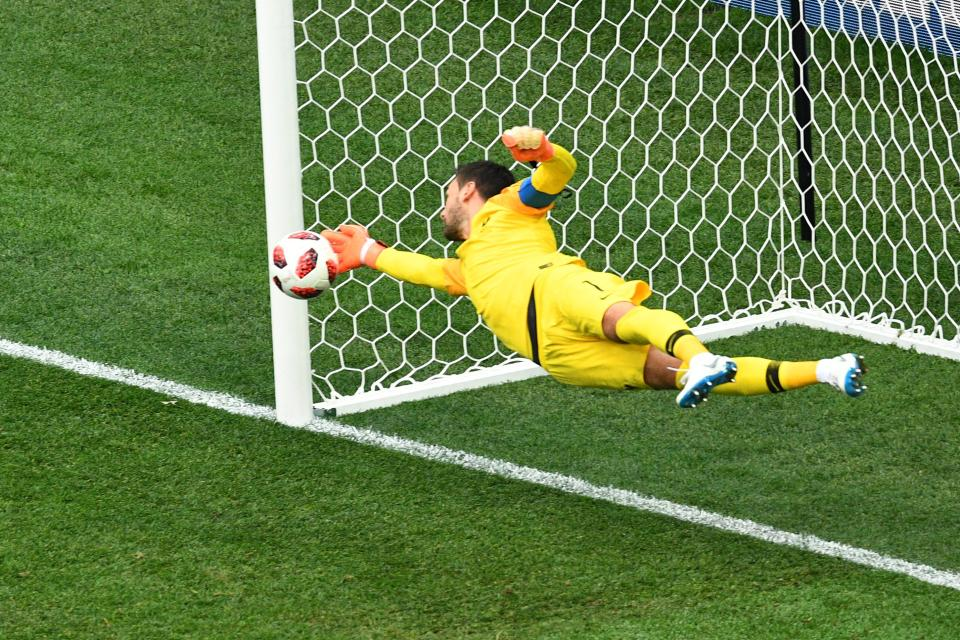 France star Hugo Lloris made a vital save to keep Uruguay at bay in the quarter-finals.  World Cup 2018 match preview, commentary, predicted team line-ups, and more France Belgium 4
