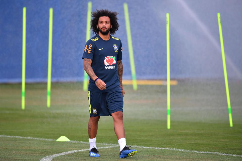 Marcelo is back in training  World Cup 2018 match preview, commentary, team line-ups, and more GettyImages 990780644
