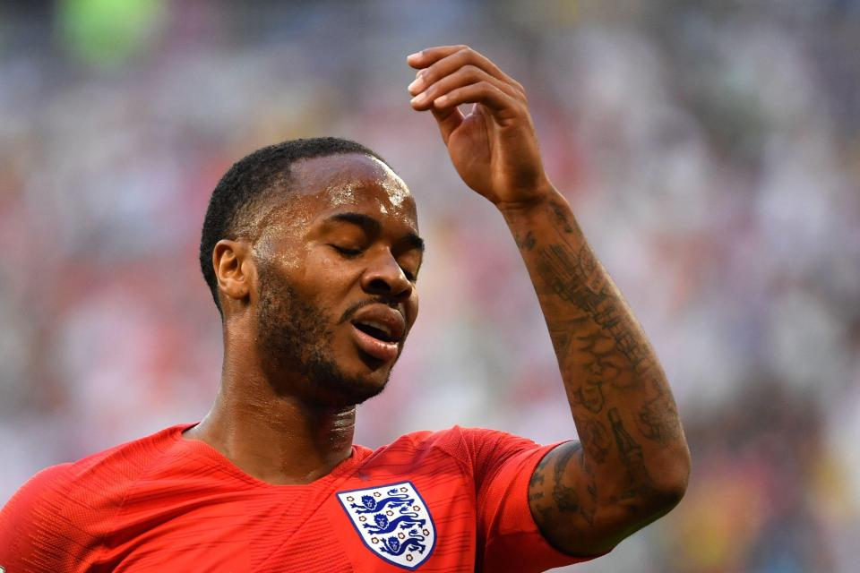 Sterling has come under intense criticism from some sections of England fans for his lack of prolifigacy  Former Liverpool boss Brendan Rodgers defends Jordan Henderson and Raheem Sterling before World Cup semi-final GettyImages 993384056