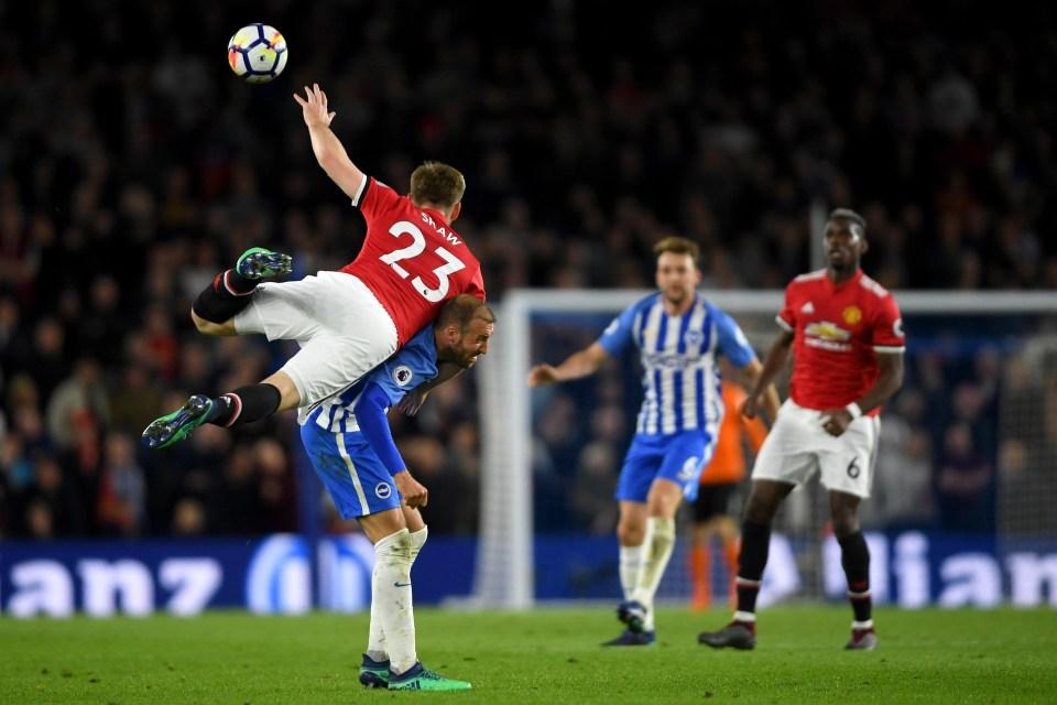 Brighton Vs Manchester United Premier League Match