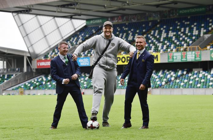 Tyson Fury and Paddy Barnes also feature on Saturday's big bill