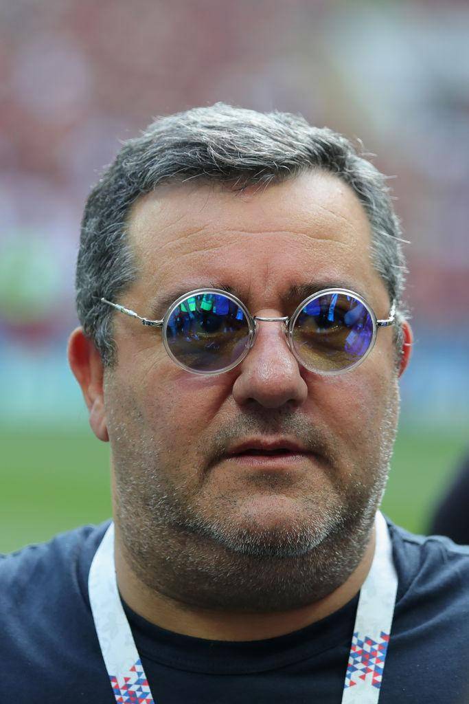 Mino Raiola is dealing with Paul Pogba's possible Manchester United exit